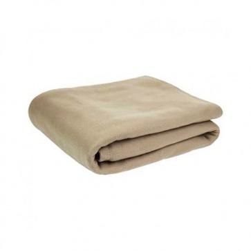 Lightweight Fleece Blanket (Tan)