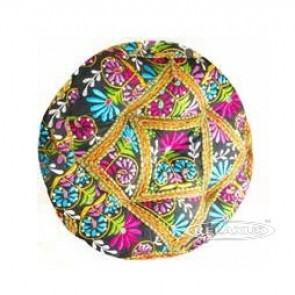 "Round Meditation Cushion 16"" x 16"" - Calcutta"