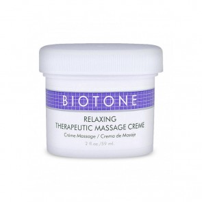 Biotone Relaxing Therapeutic Massage Cream (2oz)