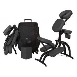 EarthLite Avila II Chair & Case - Black