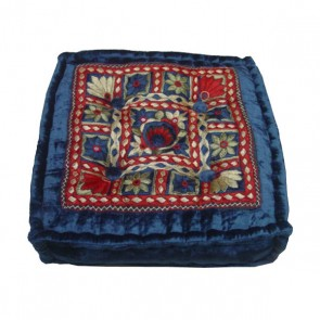 "Square Meditation Cushion 16"" x 16"" - Jaipur"