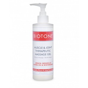 Biotone Muscle & Joint Therapeutic Massage Gel (8oz)