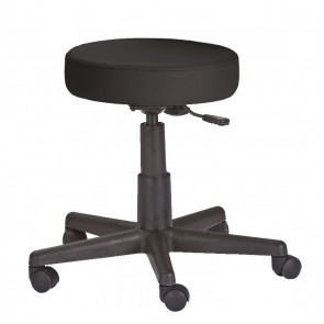 Black massage stool