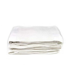 Thermal Cotton Blanket (White)