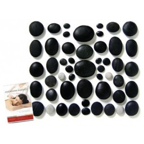 STONES - MASSAGE SET 50pc SM w DVD & manual