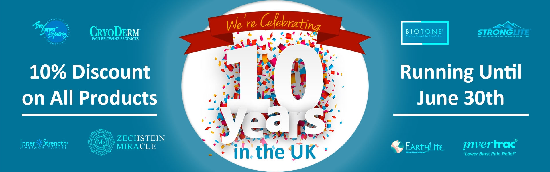 Relaxus is Celebrating 10 Years in the UK - Special Online Sale