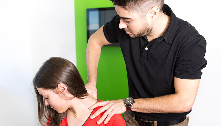 A Physiotherapist at Work