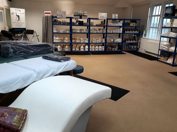 Relaxus UK Showroom